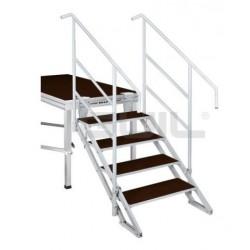 Regelbare ECP trappen voor podium Guil