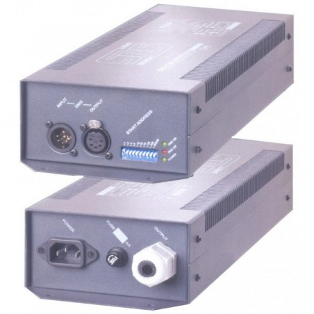 LED dimmer, 1 channel, 12/24VDC 150W power supply, DMX 5pin