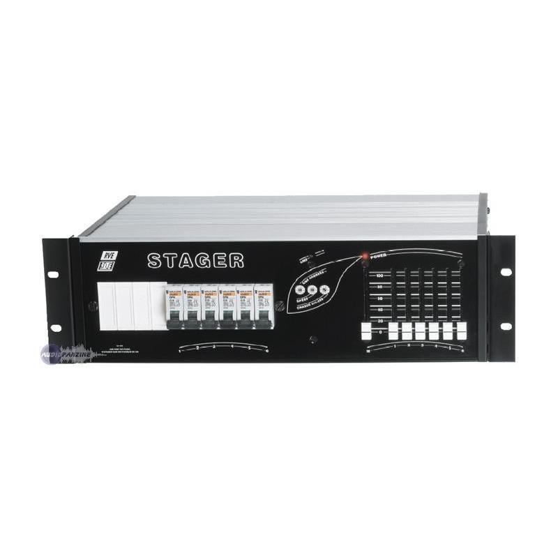 Flightcase RVE STAGER 6 x 2.3Kw / 400 V