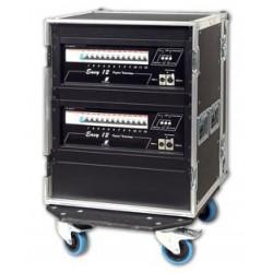 Fligthtcase RVE EASY12 24 x 2.3 Kw 230 / 400V avec Disj. bipolaires