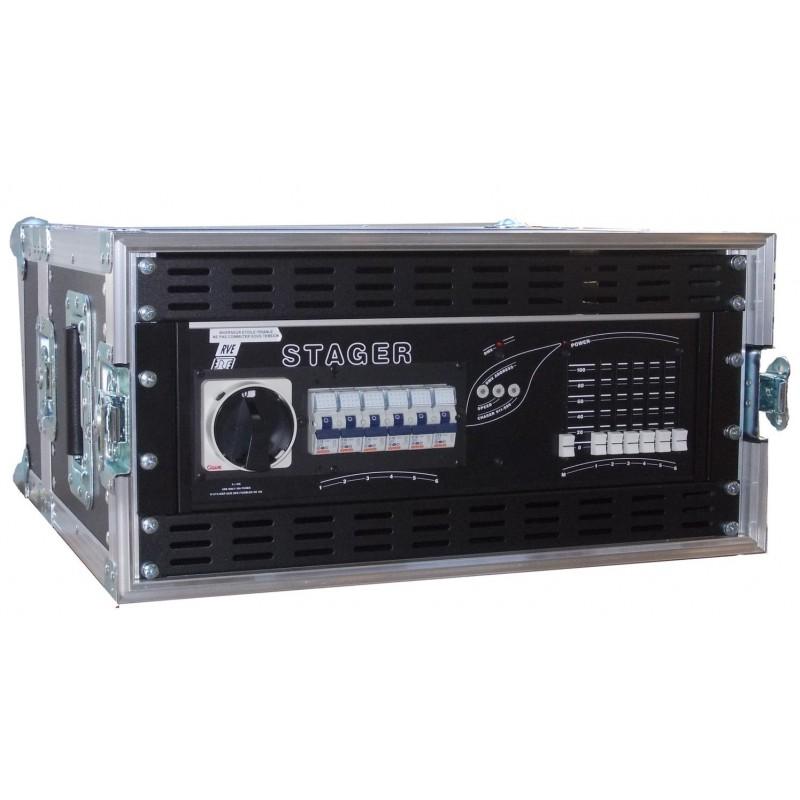 Flightcase RVE STAGER 6 x 3Kw / 230 / 400 V