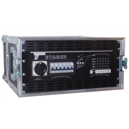 Flightcase RVE STAGER 6 x 2.3Kw / 230 / 400 V