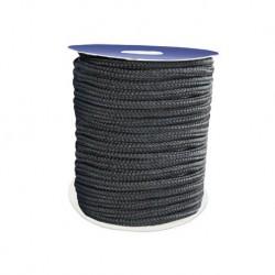 Drisse polyprop. noire préétirée/ 100M/ 10mm