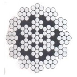 Câble acier galvanisé levage/ 100m/ 6mm