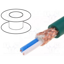 100 m de câble MICRO 2 X 0,22² + masse