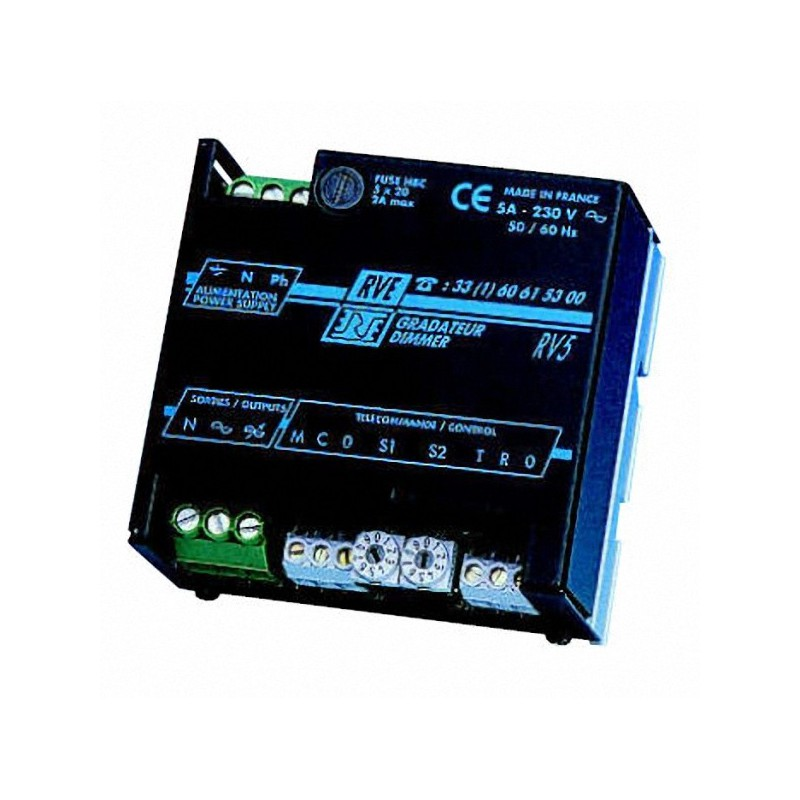 Boutons poussoirs, faders ou 0 / +10V - 1000 W