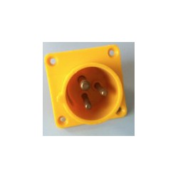 PCE 16 A chassis male 110 V