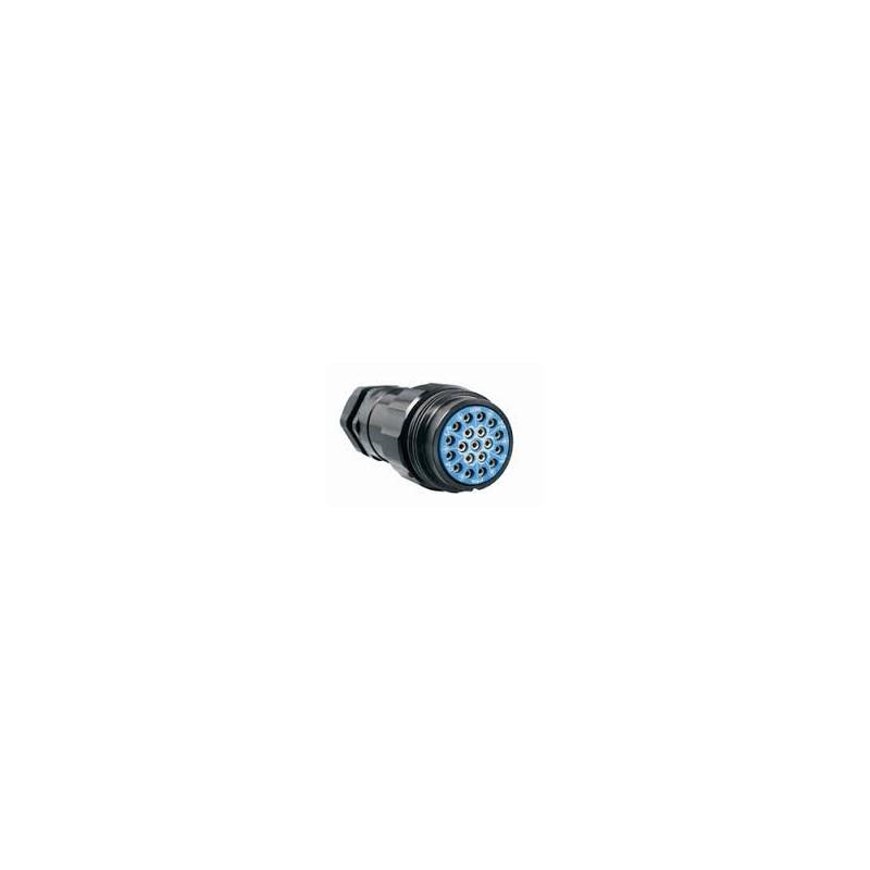 SOCAPEX 19 polig kabeldeel female