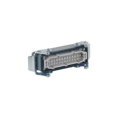 HARTING 16 contacts mâle chassis