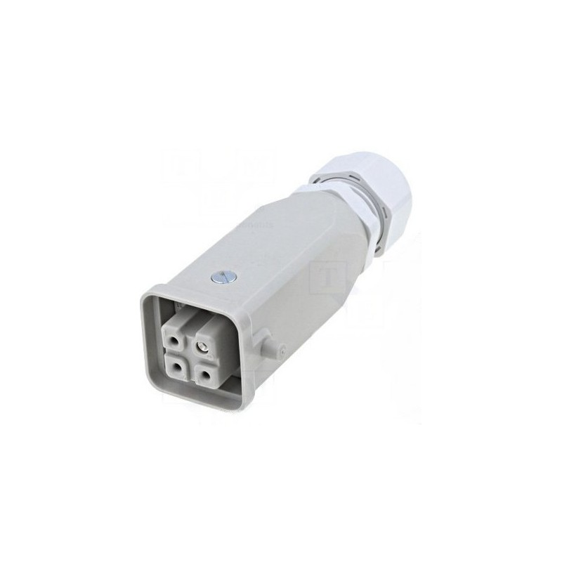 HARTING 3 + T contacts femelle câble