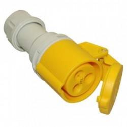 PCE 16 A Femelle câble 110 V 3 poles