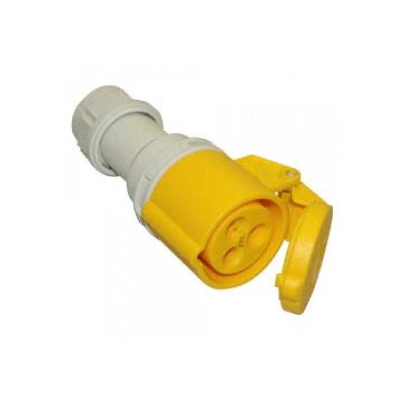 PCE 16 A kabeldeel male 110 V 3 polig