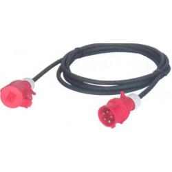 cable ho7 cee tri 400 v 10 a 16 a en 5g1 5 mm. Black Bedroom Furniture Sets. Home Design Ideas