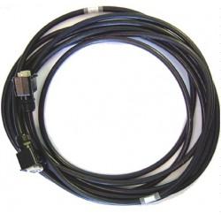 MULTIKABELS HARTING 8 kringen /  LIYY ZWART 18x1,5 mm² met een lengte van: