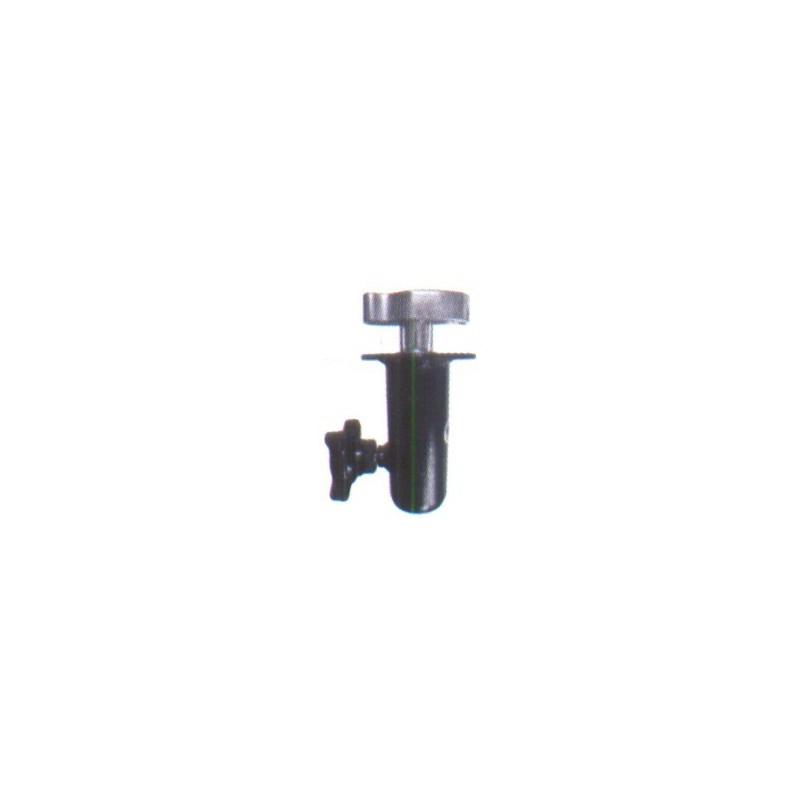 Adapter 35 mm / M 10 met vlinder plaat