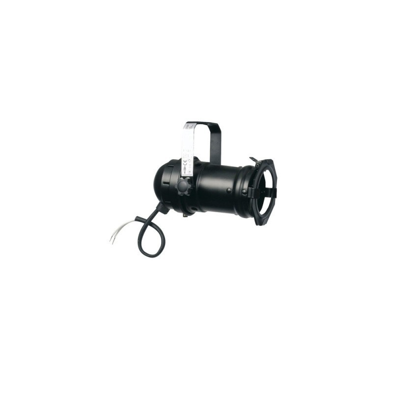 PAR 16 noir pour lampe dichroïque 12 v / 50 w