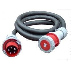 CABLE D' ALIMENTATION CAOUTCHOUC HO7 TRI 400 V / 125 A en 5G35 mm² avec une longueur de: