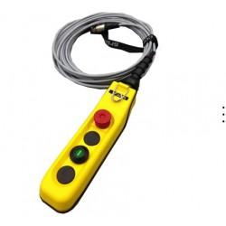 boitier de télécommande BASIC avec 10 m de câble (Estop + GO)