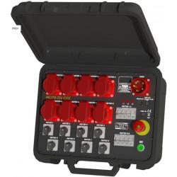 """Valise pour 8 moteurs """" LOW voltage"""""""