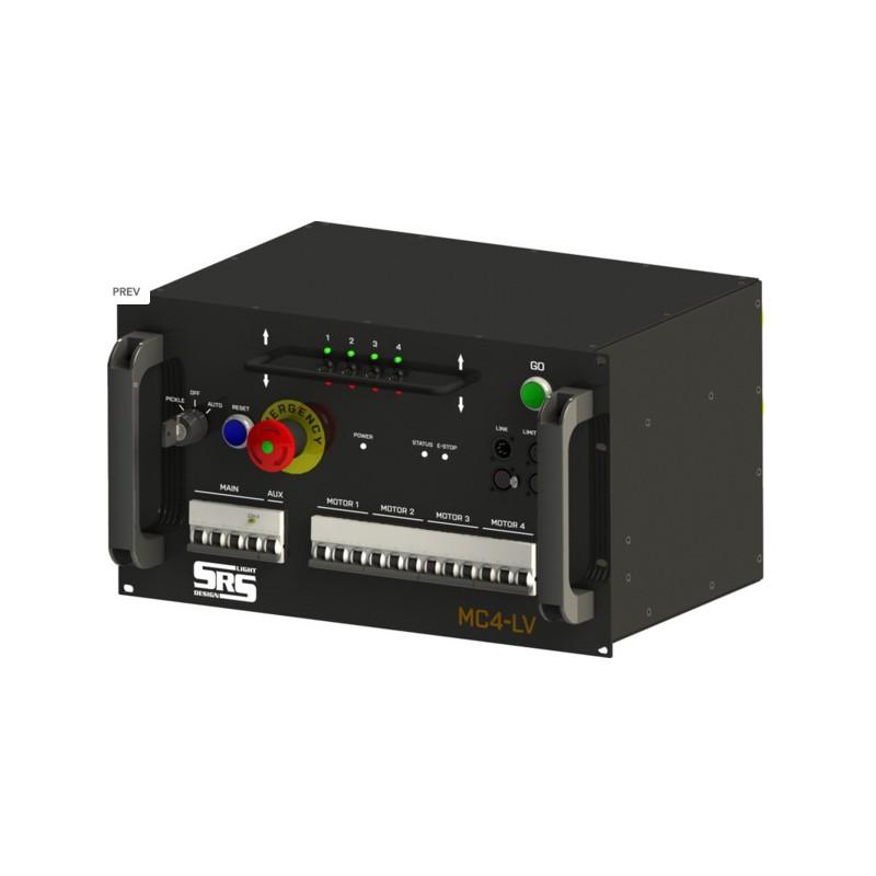 """commande pour 4 moteurs """" SLI3 low voltage"""""""