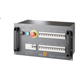 "sturing voor 8 takels ""SIL3 direct voltage"""