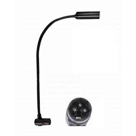 E-Ray 30 cm avec XLR 3 pôles coudée et 4 LEDS