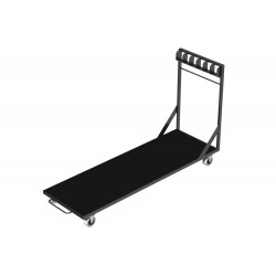 VDT – door transport trolley Transport trolley for up to 6 pcs of VERSA 750 decks in vertical position