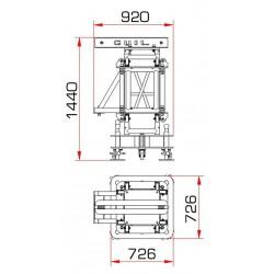 Hijs toren GUIL TMD-548