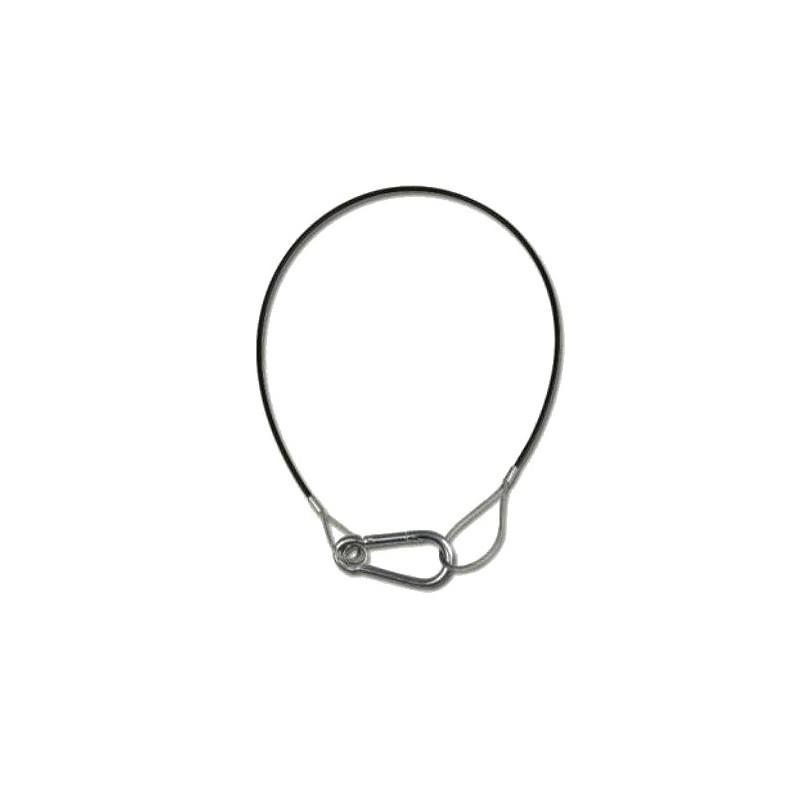 Câble de sécurité 5 mm / 120 cm