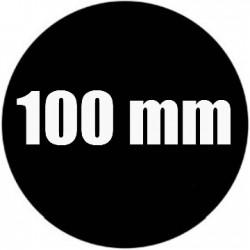 Steel Rosco Gobo Maat A  : Diameter 100 mm   Beeld 75 mm