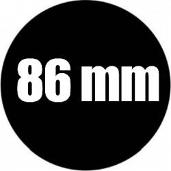 Steel Rosco Gobo Maat B  : Diameter 86 mm    Beeld 64.5 mm
