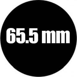 Steel Rosco Gobo Maat M  : Diameter 65.5 mm   Beeld 49.5 mm