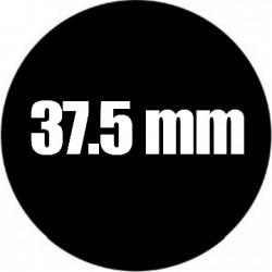 Steel Rosco Gobo Maat E  : Diameter 37.5 mm   Beeld 28.13 mm