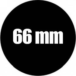 Steel Rosco Gobo Maat G  : Diameter 66 mm   Beeld 45 mm