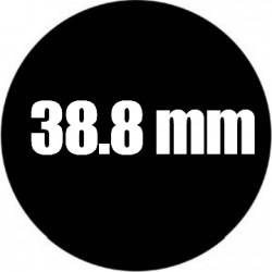 Steel Rosco Gobo Maat J   : Diameter 38.8mm   Beeld 25 mm