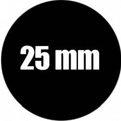 Steel Rosco Gobo Taille VLI  : Diametre 25 mm   Image 18.75 mm