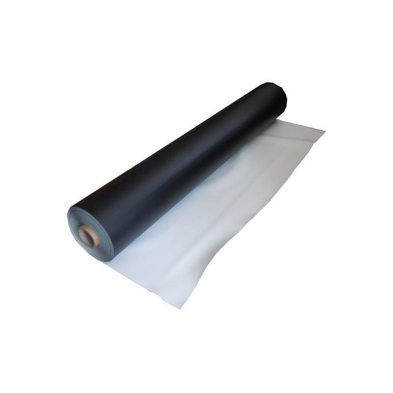 Tapis de danse noir / blanc 1,6m x 12M ( 19,2m² )
