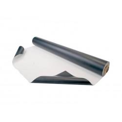 Dansviniel zwart / wit 1,5m x 12M ( 18m² )