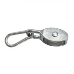 Eurotrack - Ballast Pulley - 90mm - role 35 x 12 mm