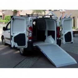 Laadramp MILOS voor bestelwagens, lengte 2M, breedte 1M