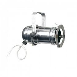PAR 16 chromé pour lampe dichroïque 12 v / 50 w